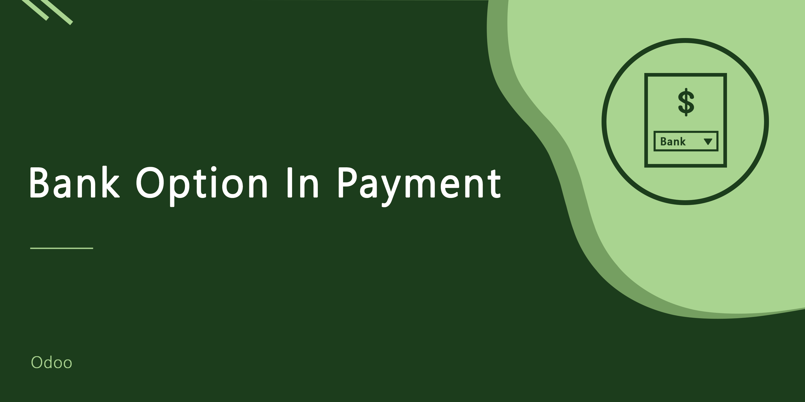 Bank Option In Payment