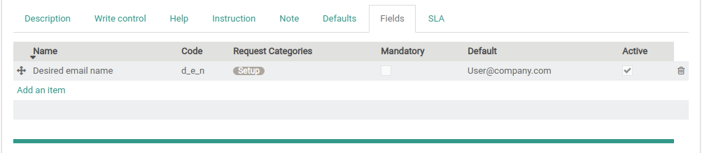 configure custom fields