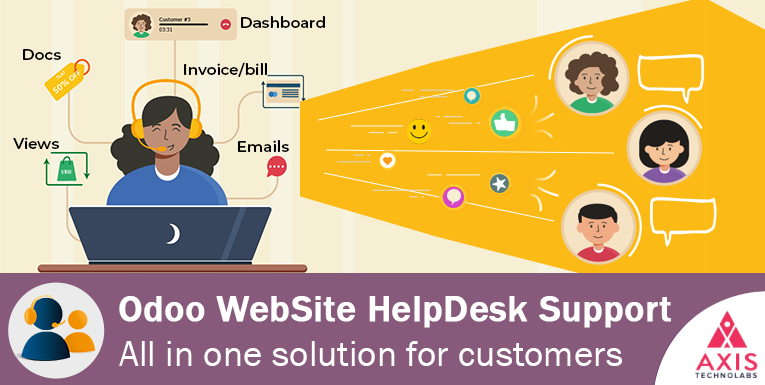 website helpdesk module