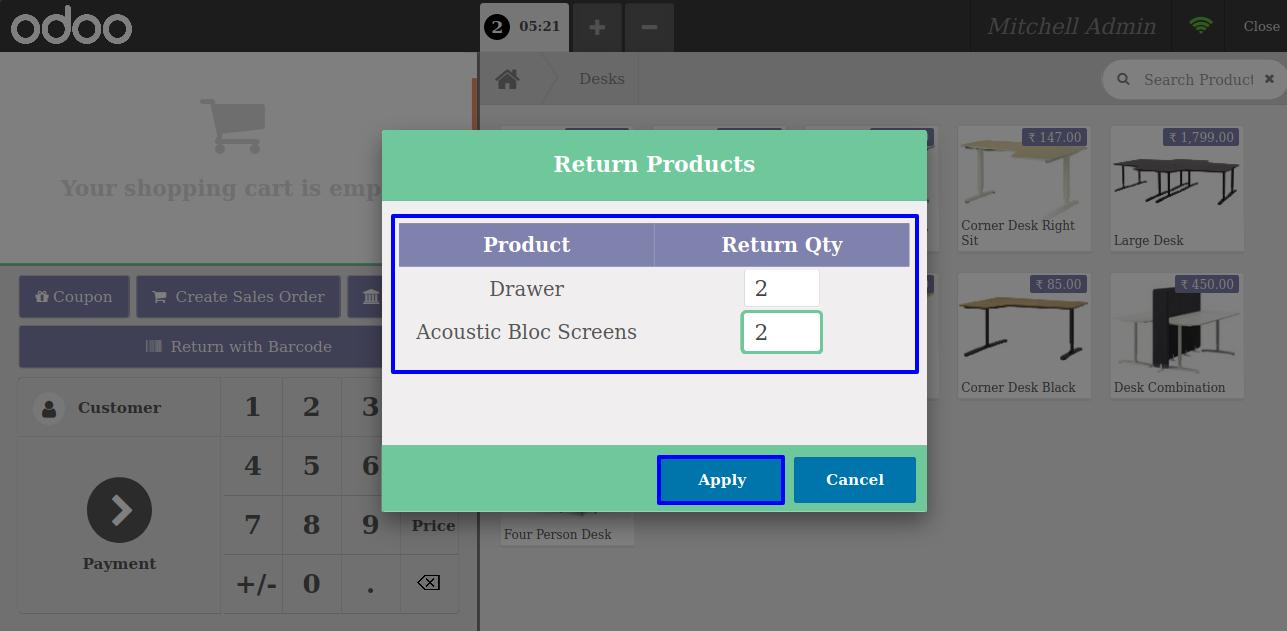 Return Order Barcode