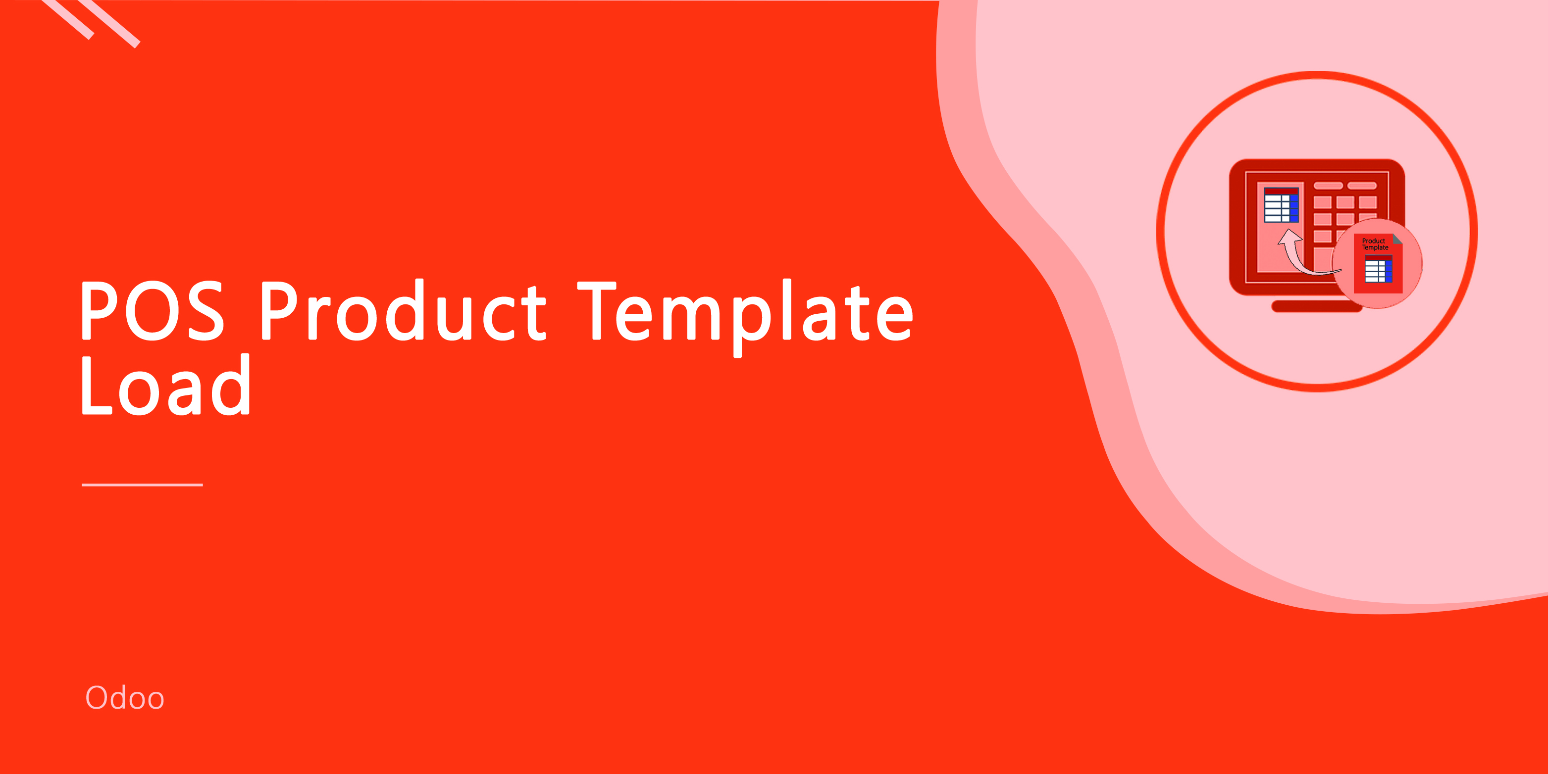 POS Order Template Product