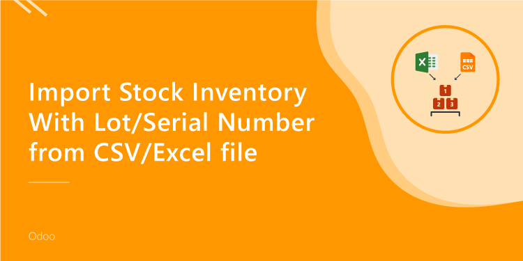 Import Stock Inventory With Lot/Serial Number from CSV/Excel file