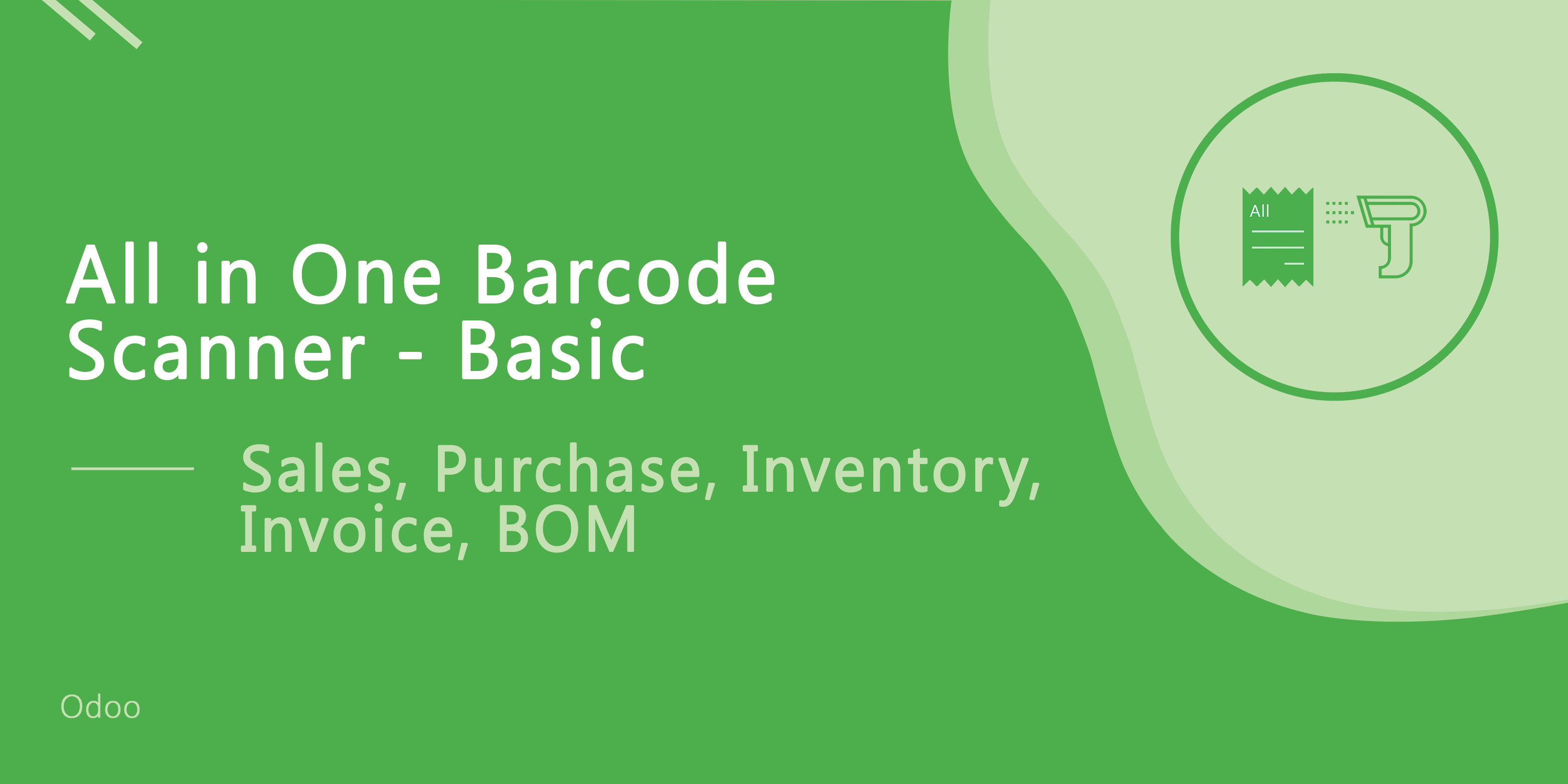 All In One Barcode Scanner-Basic