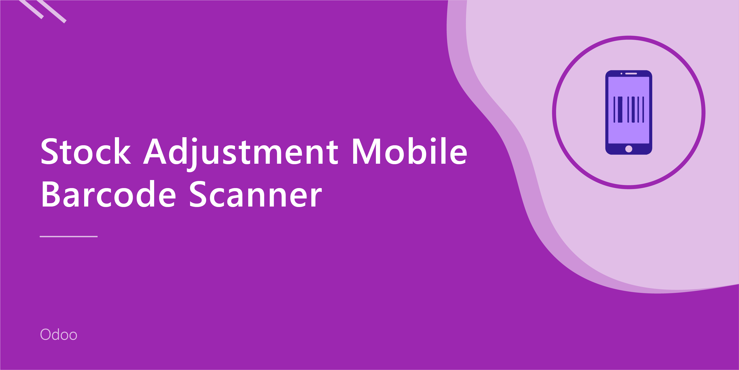 Stock Adjustment Mobile Barcode/QRCode Scanner