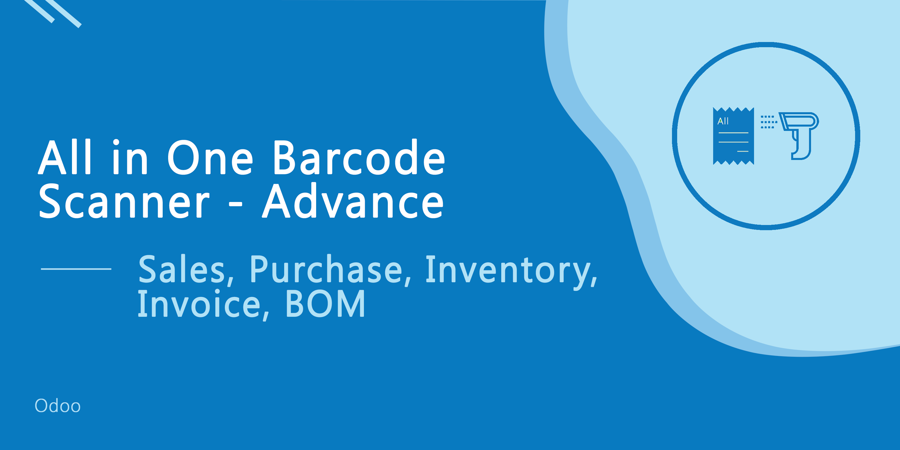 All In One Barcode Scanner-Advance