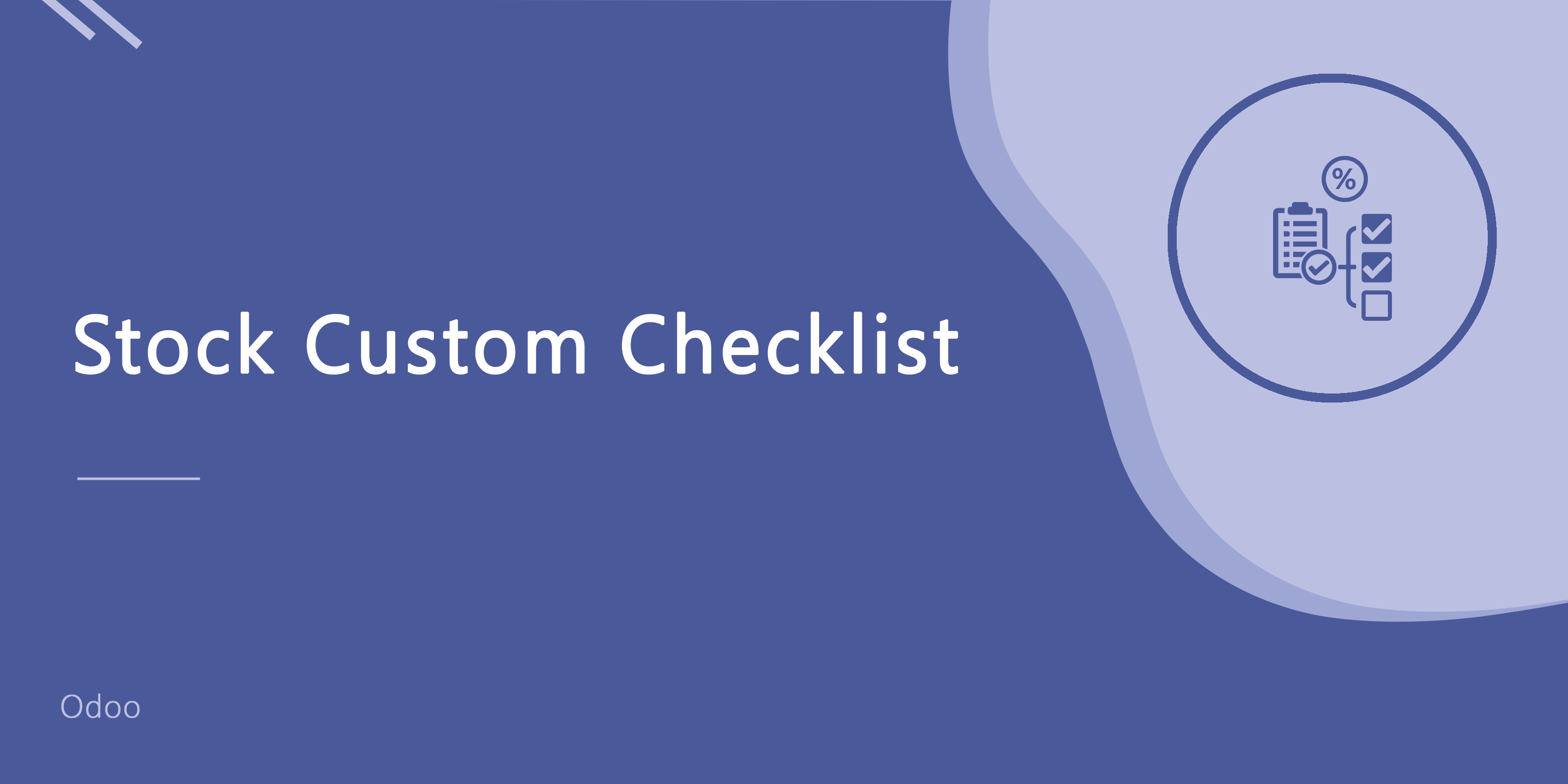 Stock Custom Checklist