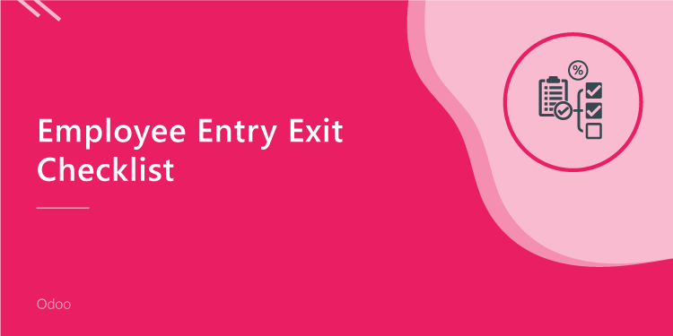 Employee Entry Exit Checklist