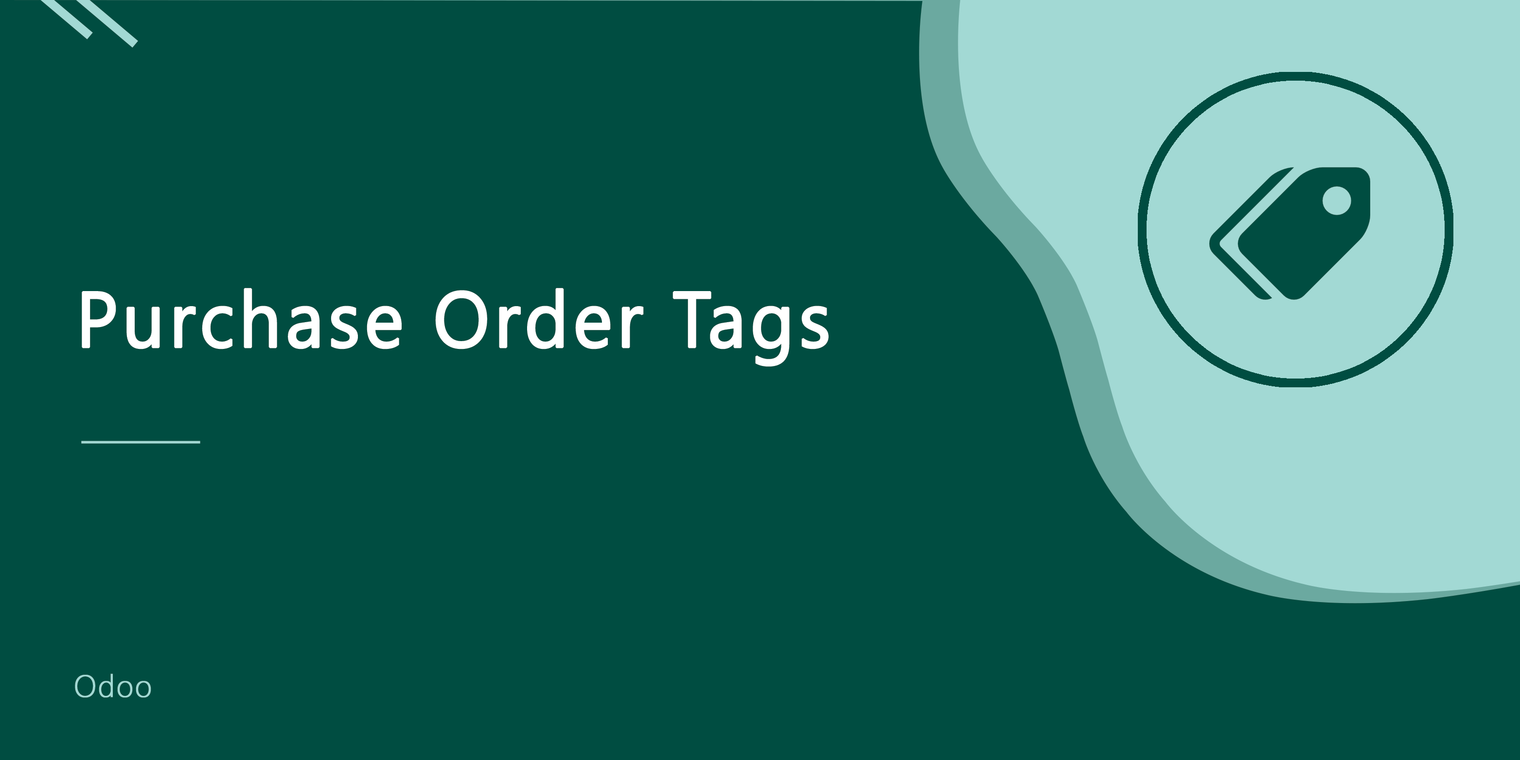 Purchase Order/Request For Quotation Tags