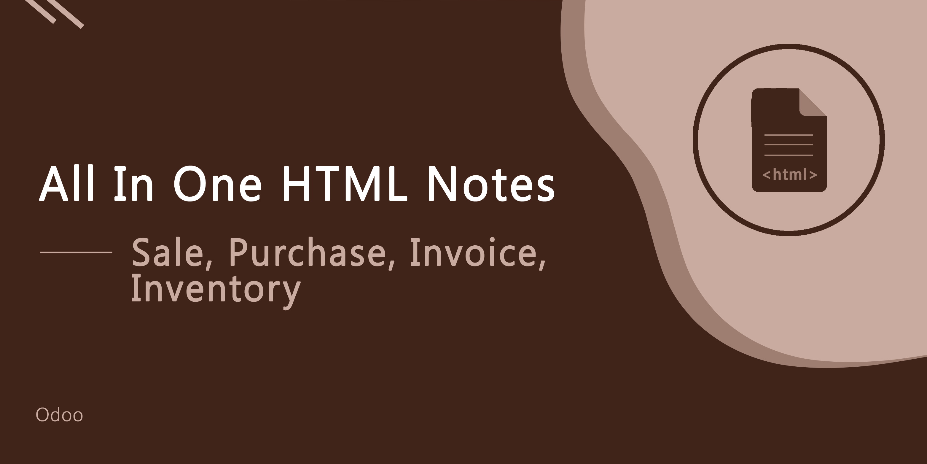 All In One HTML Notes - Sale, Purchase, Invoice, Accounts, Inventory