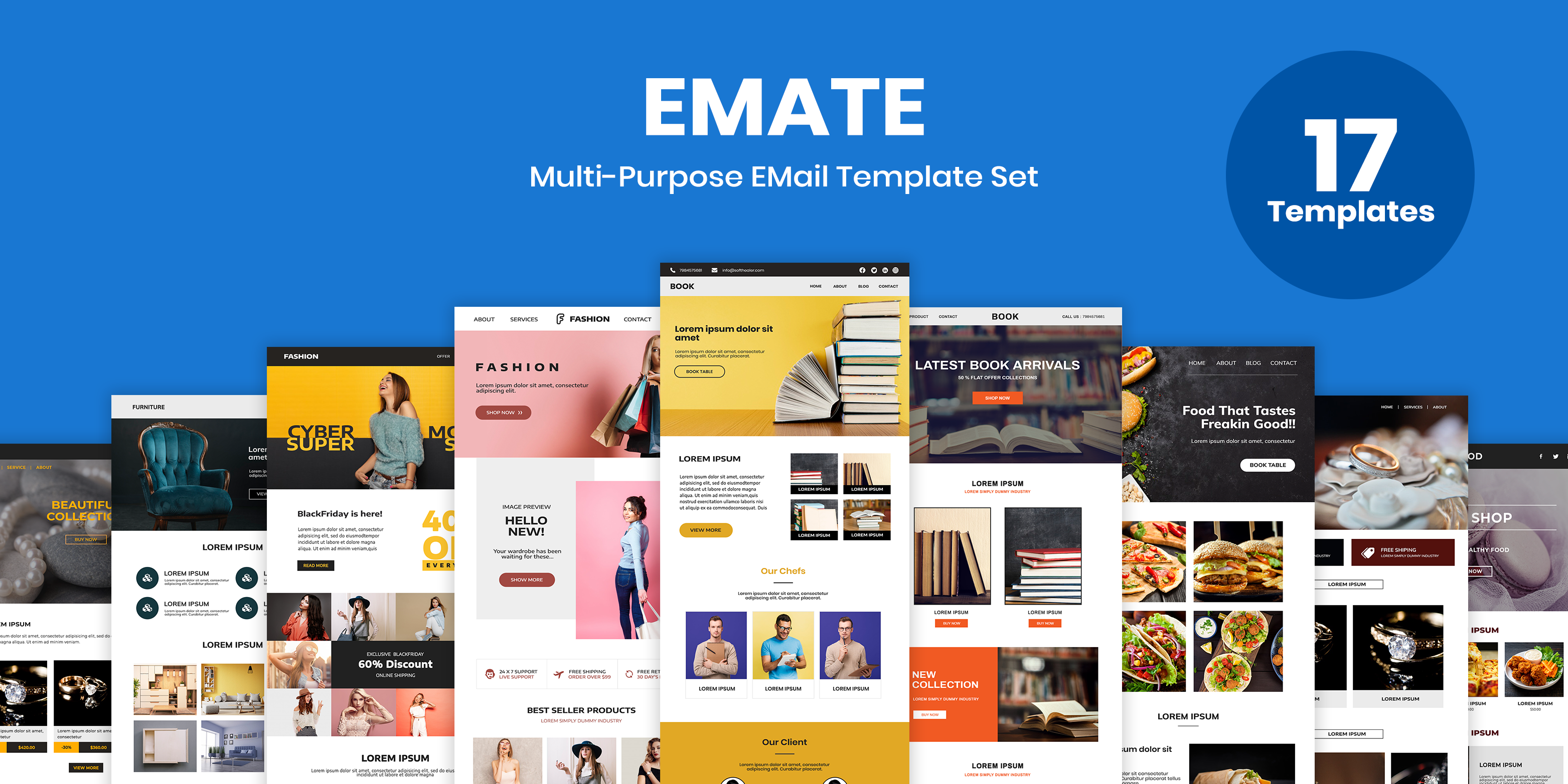 Emate - Email theme