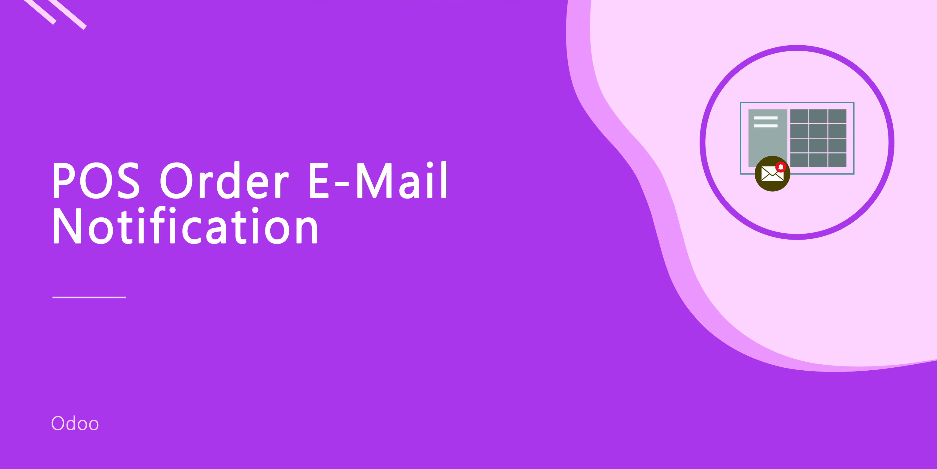 POS Order E-mail Notification