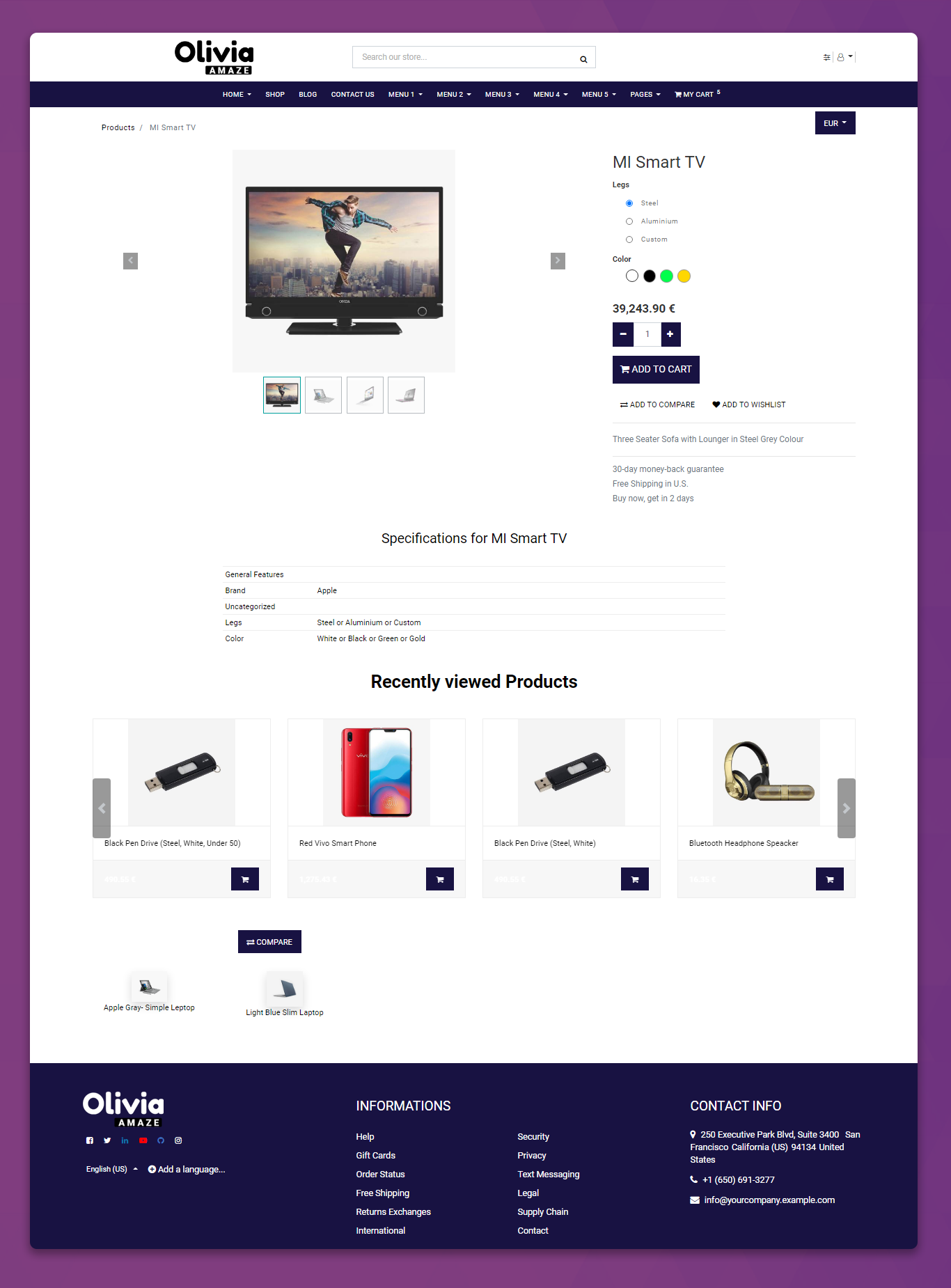 HTML5 odoo theme, Dentist odoo theme, Health Care theme for odoo, gym odoo theme, yoga odoo theme
