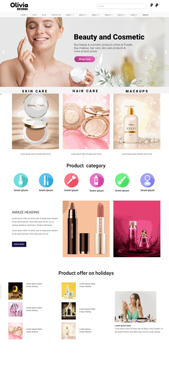 Beauty, Hair, Spa odoo theme,