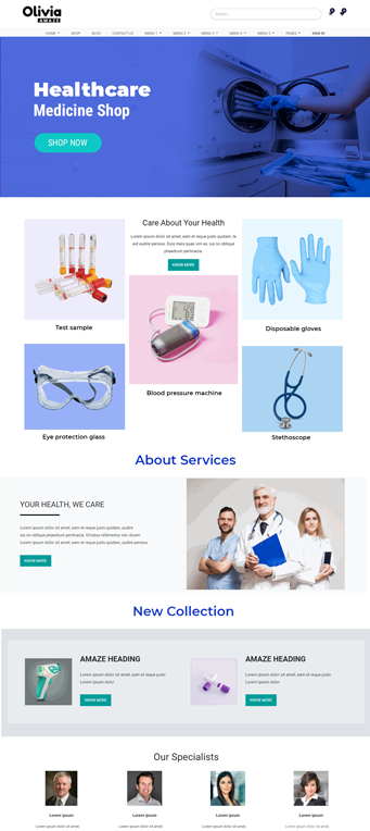 odoo backend theme, Hospital odoo theme, pharmacy odoo theme, healthcare odoo theme, medical clinic odoo theme