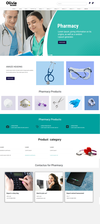 Pharmacy odoo theme, medical odoo themes, pharmaceutical odoo theme, medical odoo theme