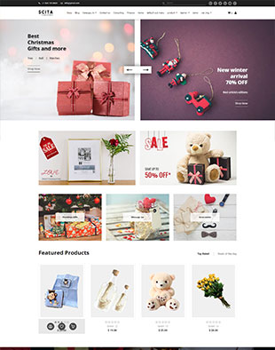 Ecommerce - Gift Articles