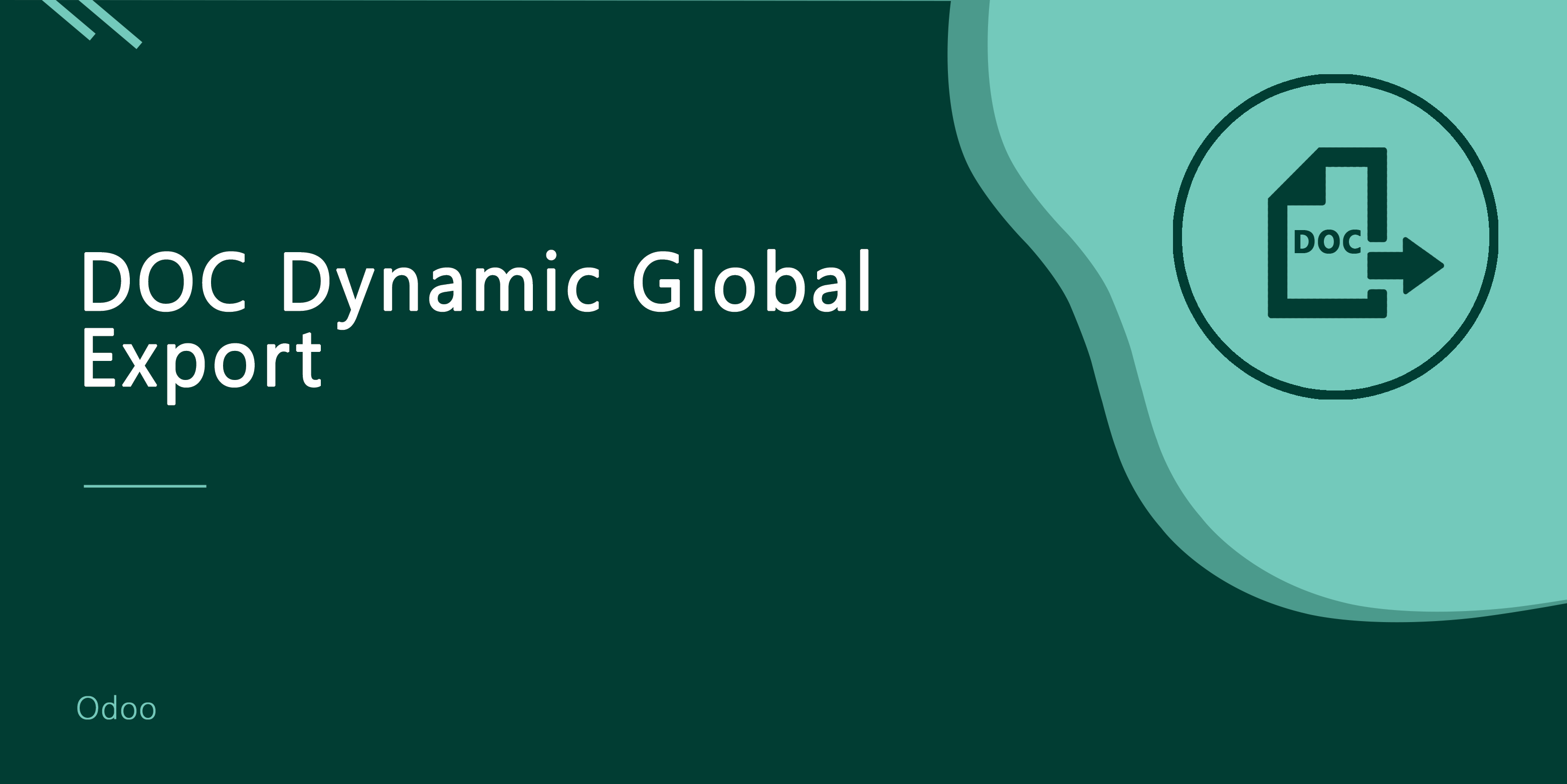 DOC Dynamic Global Export