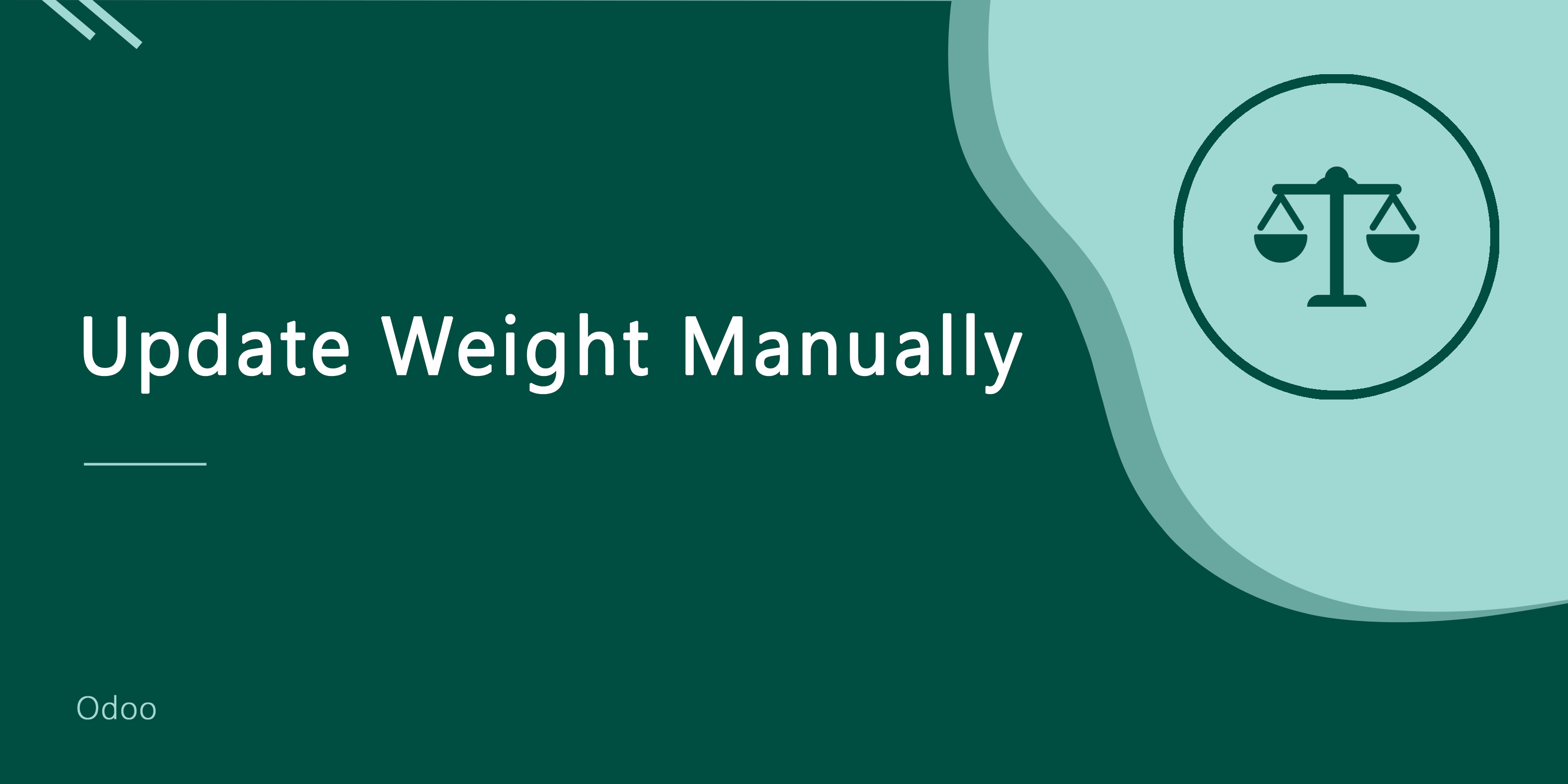 Manually Weight