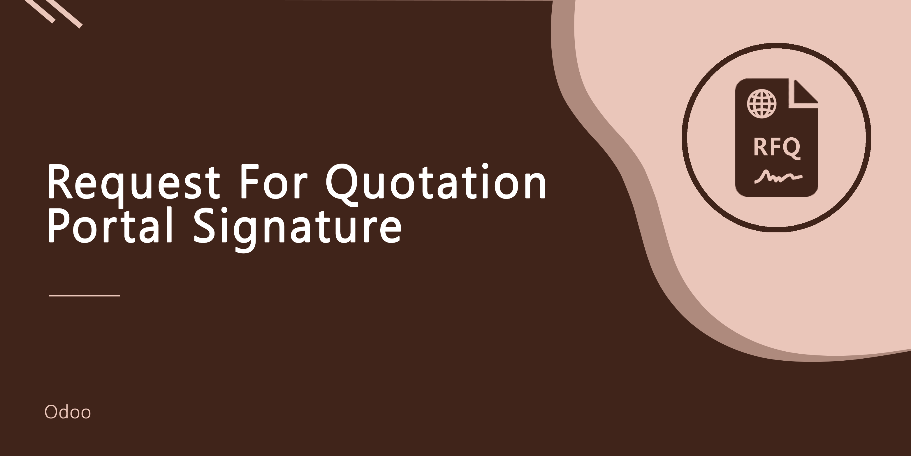 Request For Quotation Portal Signature