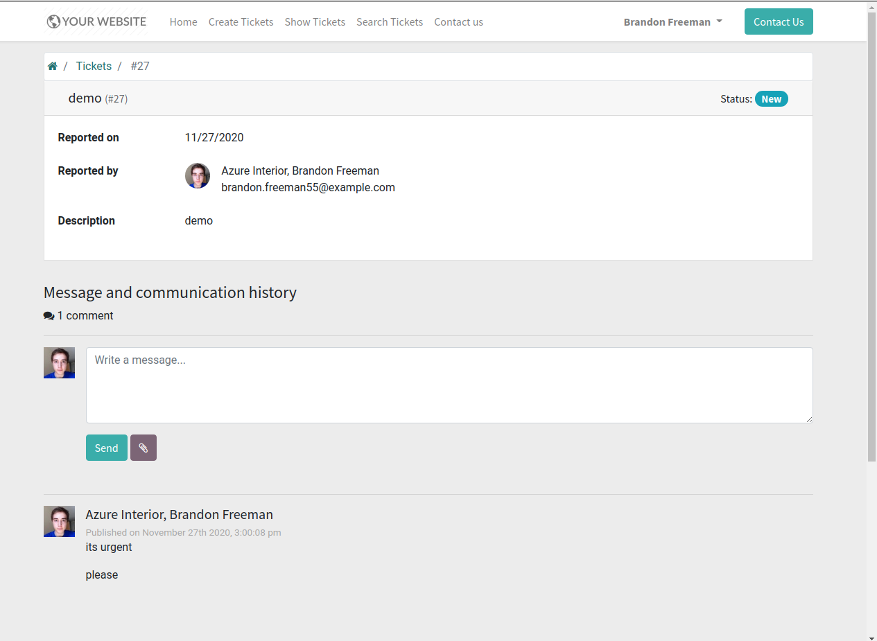 Call center management in odoo