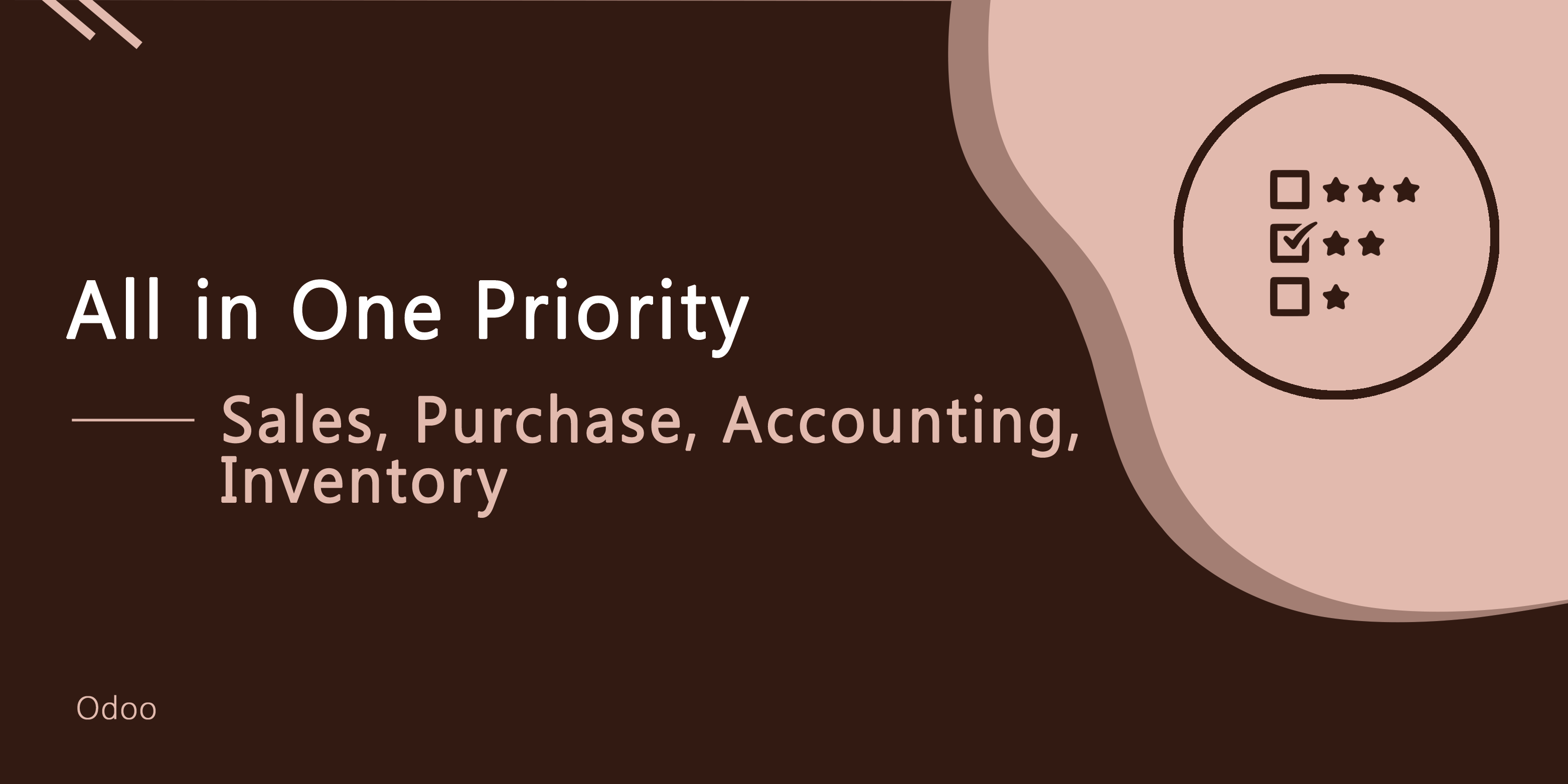 All in One Priority - Sale, Purchase, Account, Inventory