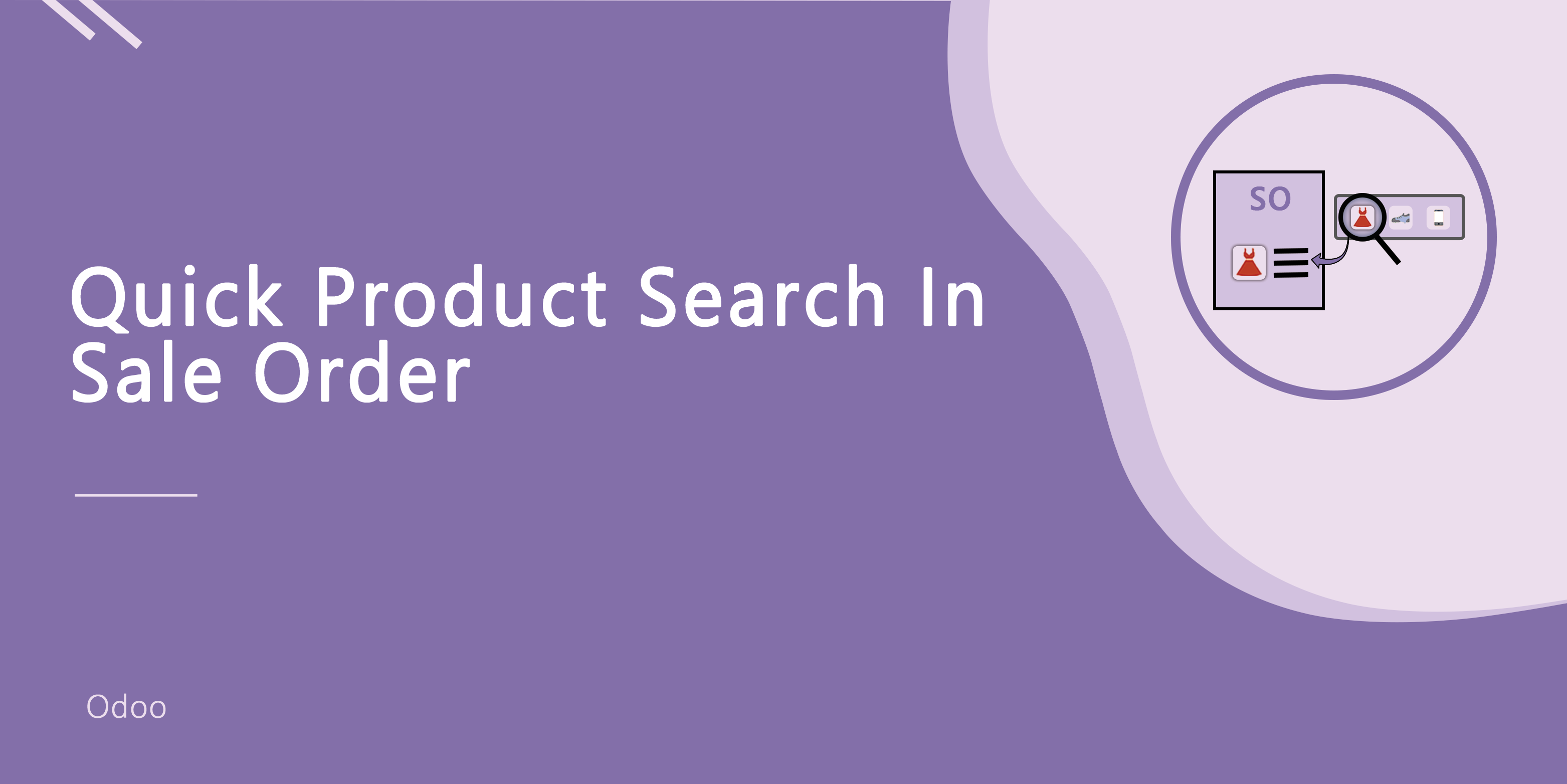 Quick Product Search in Sale Order