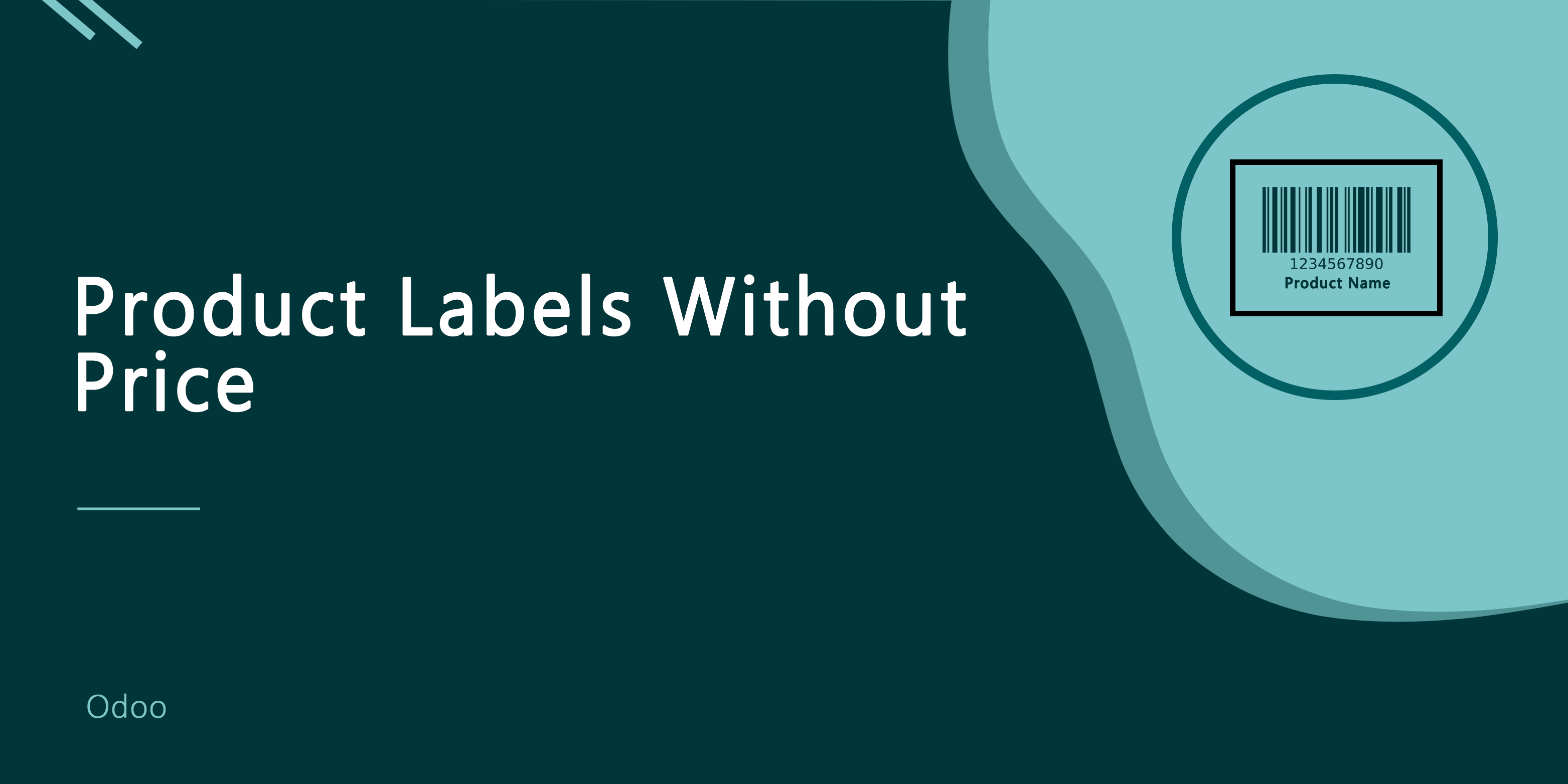 Product Labels Without Price