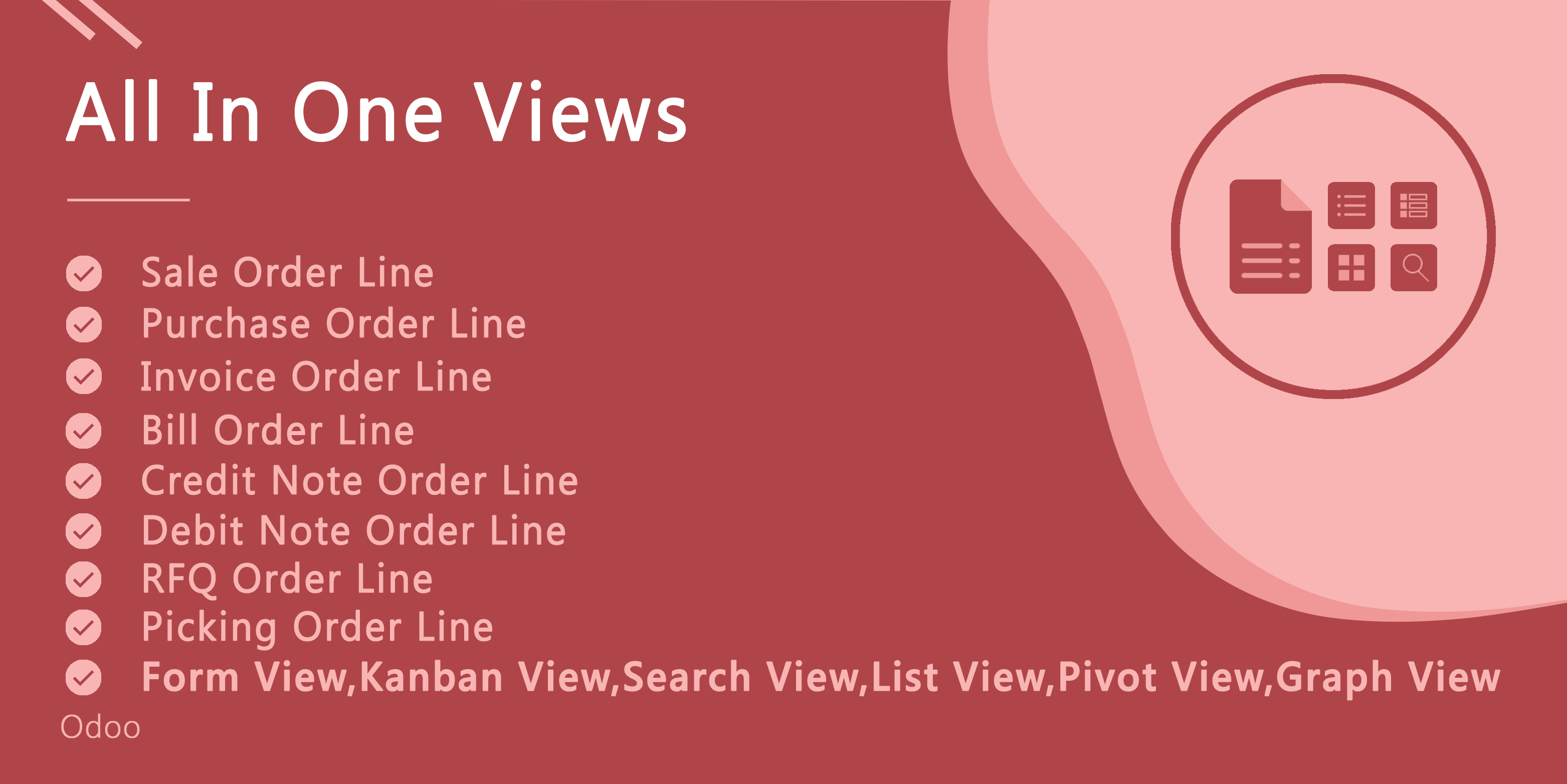 All In One Line Views